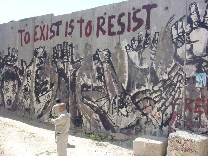 To Exist Is To Resist Fragment De Mur Fragment De Tags