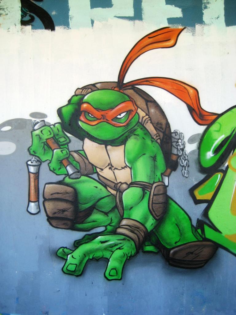 Tortue ninja fragment de tags - Image tortue ninja ...