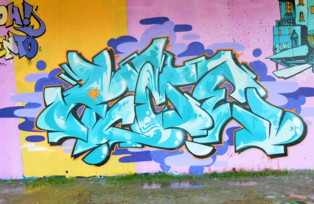 besancon, jam graffiti octobre 2014 YONE