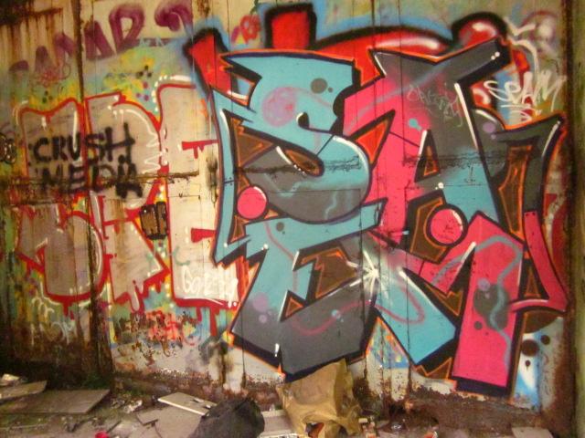 graffiti Rhodia_SAEM -photos Agathe_Guignard