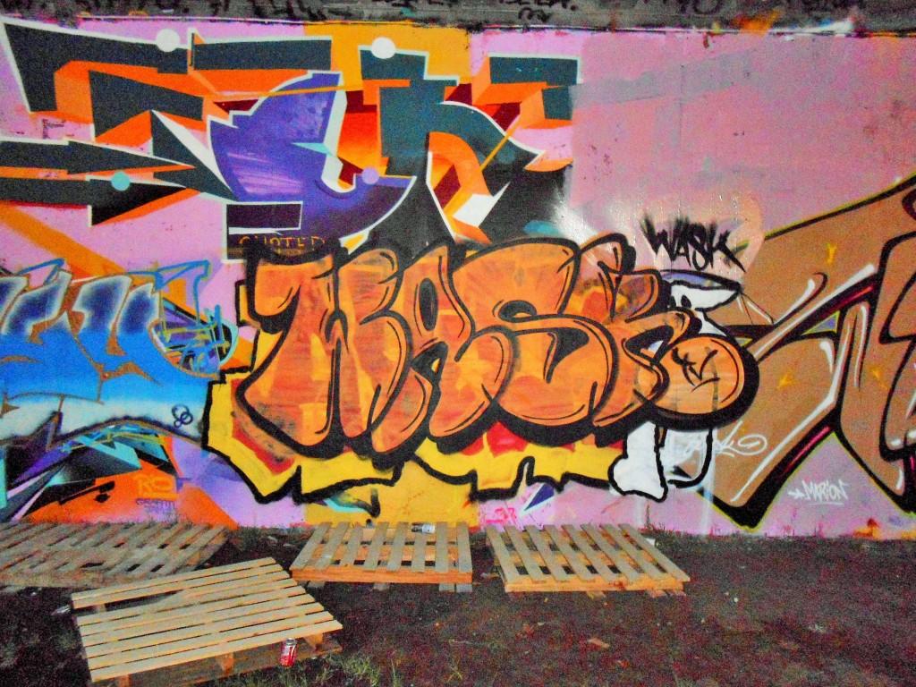 besancon - graffiti - novembre 2014 Wask