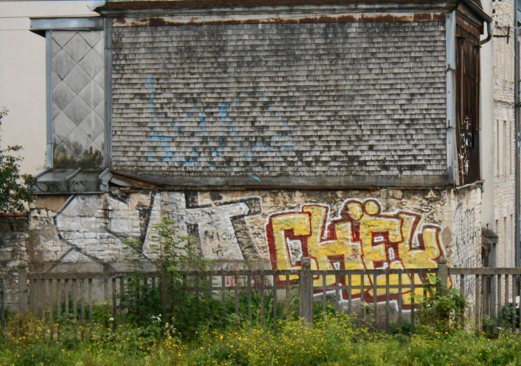 septembre 2014 CHEK - graffiti, besancon