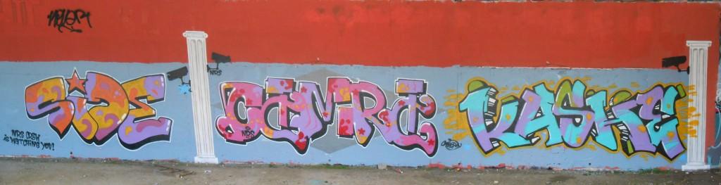besancon juin 2015 graffiti Site, Camera, Kashe (2)