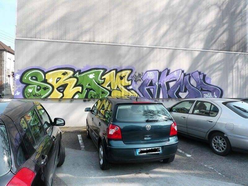 besancon 2016 SRAM, ATMO graffiti