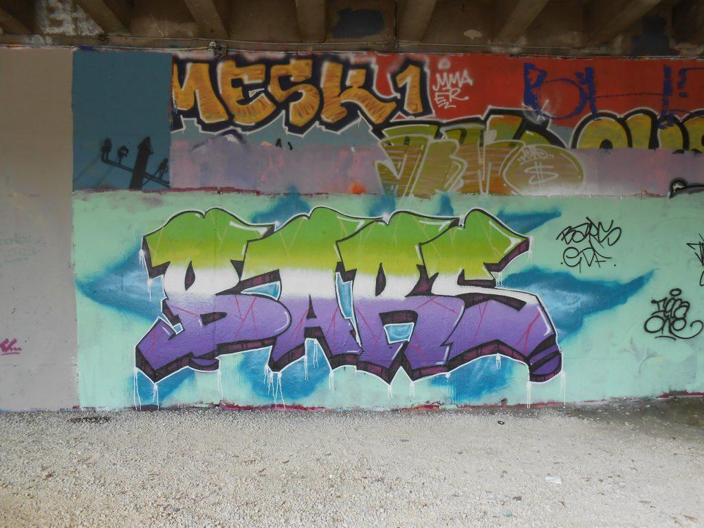 BARS - graffiti - besancon 2016
