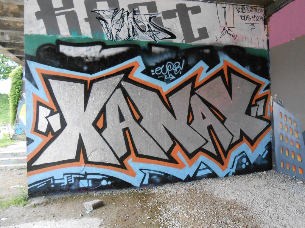XANAX, Oups - Graffiti - Besançon