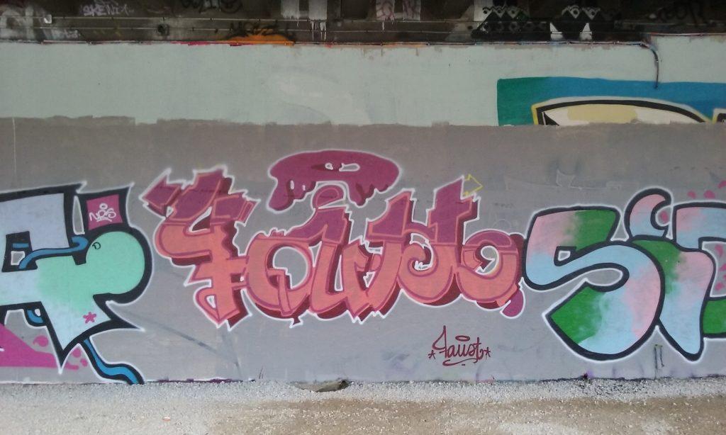FECA, FAUST, SIDE graffiti besancon 2016 (2)