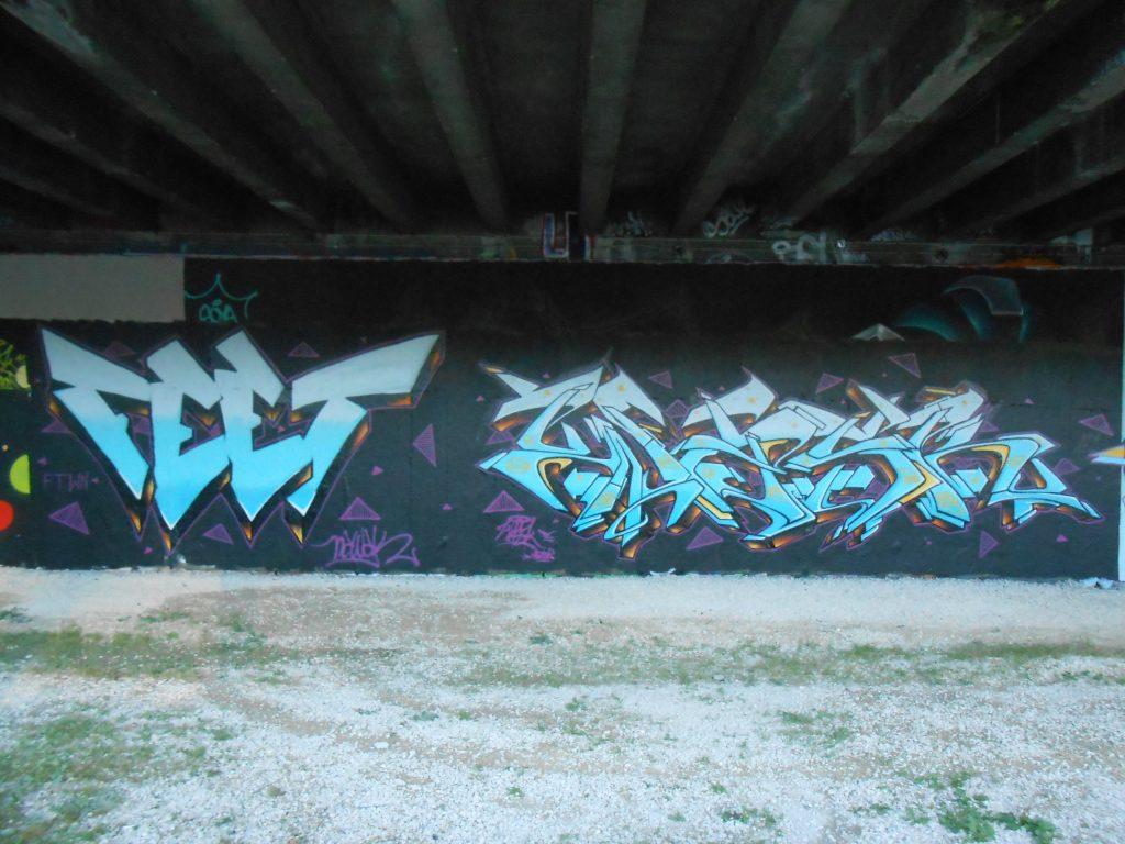 Feet, Wask - graffiti, besancon 2016 (1)